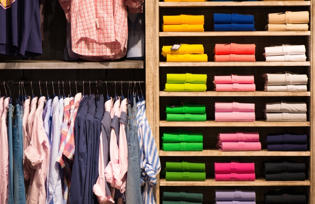 A key category for global retail expansion was apparel.
