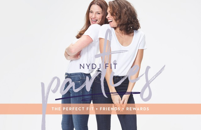 NYDJ is having at-home fit parties.