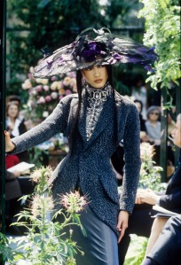 Christian Dior Fall Couture 1997 show in Paris