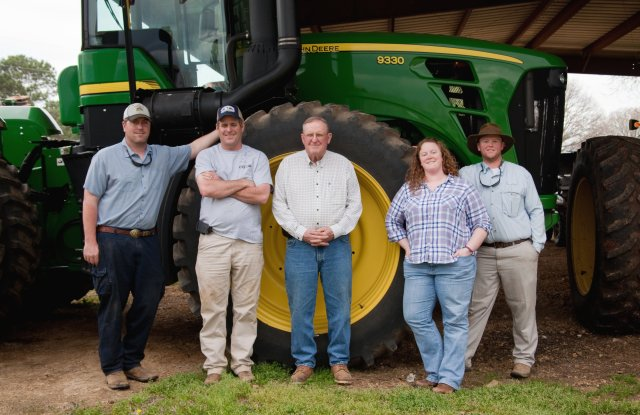 The Newby family has been growing cotton for seven generations.