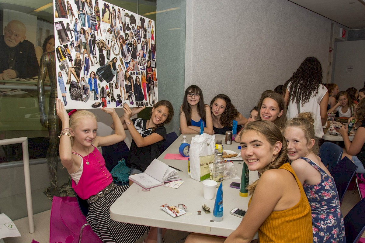 An image from last summer's Fashion Camp NYC.