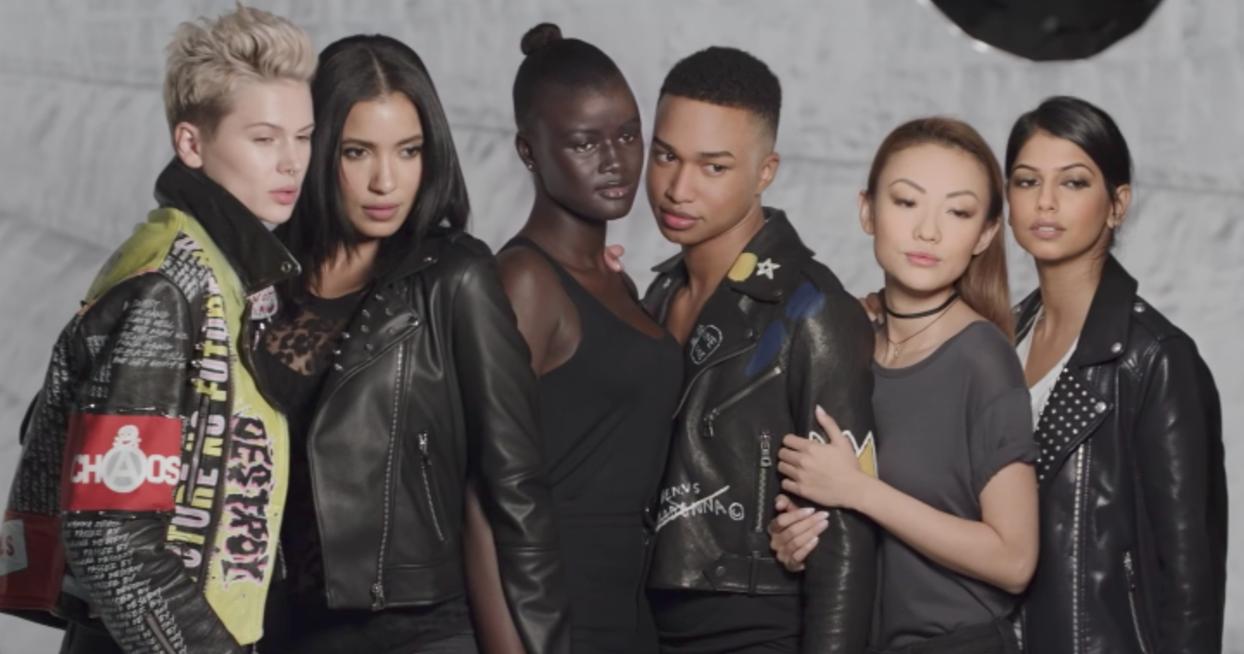 Make Up For Ever's #BlendInStandOut campaign