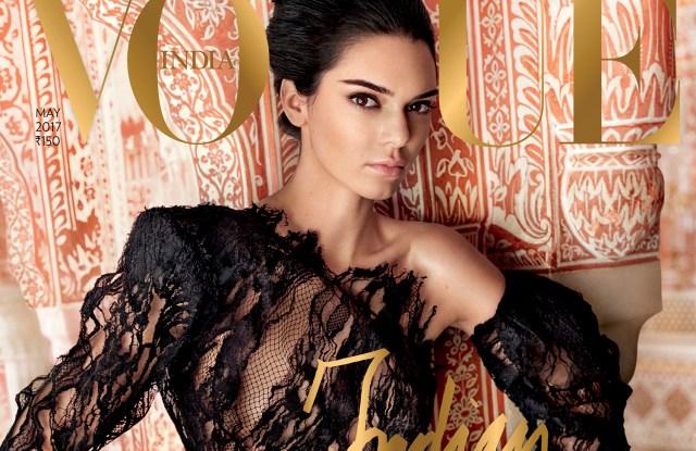 Kendall Jenner vogue india mario testino