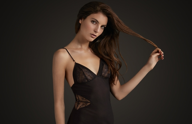 A look from Vince Camuto's Intimate Apparel line.