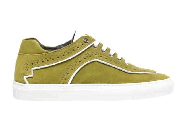 "Pollini ""Modern Brit"" sneaker."
