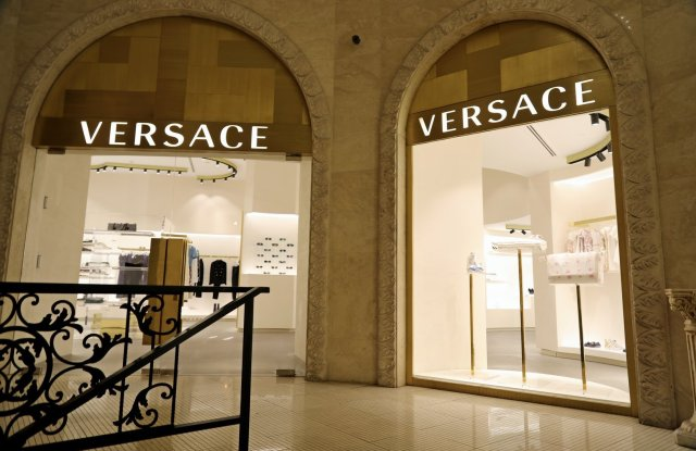 The Versace franchised store in Tehran has struggled given political and economic uncertainty.