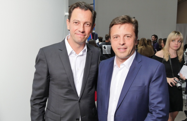 Pierre-Yves Roussel and Eric Marechalle