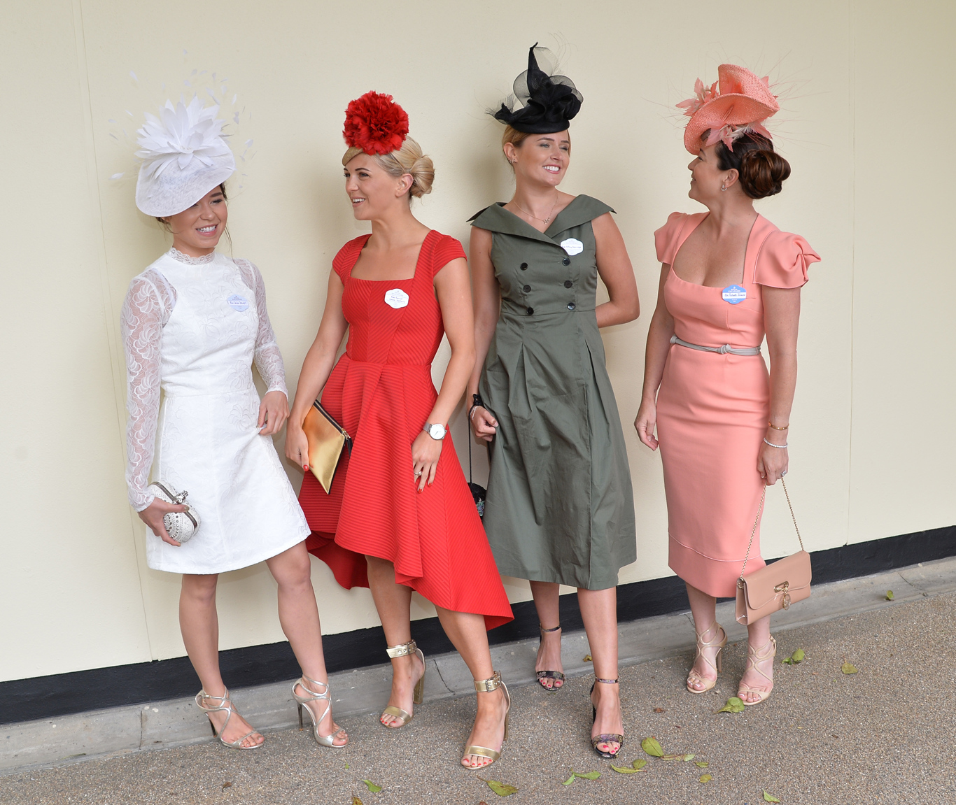 Racegoers enjoy themselves.Royal Ascot 2017, Day Four, at Ascot Racecourse on Friday 23rd June.