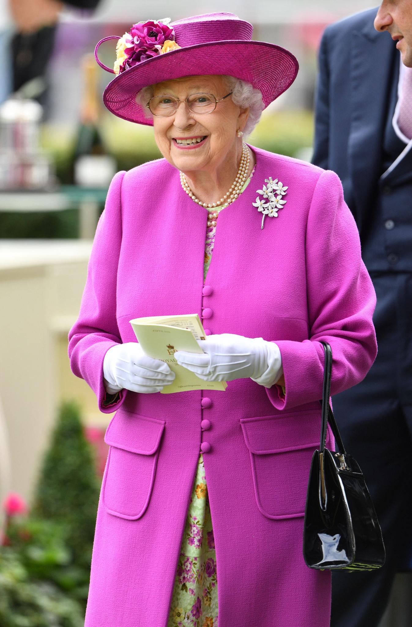 Queen Elizabeth IIRoyal Ascot, Day Five, UK - 24 Jun 2017