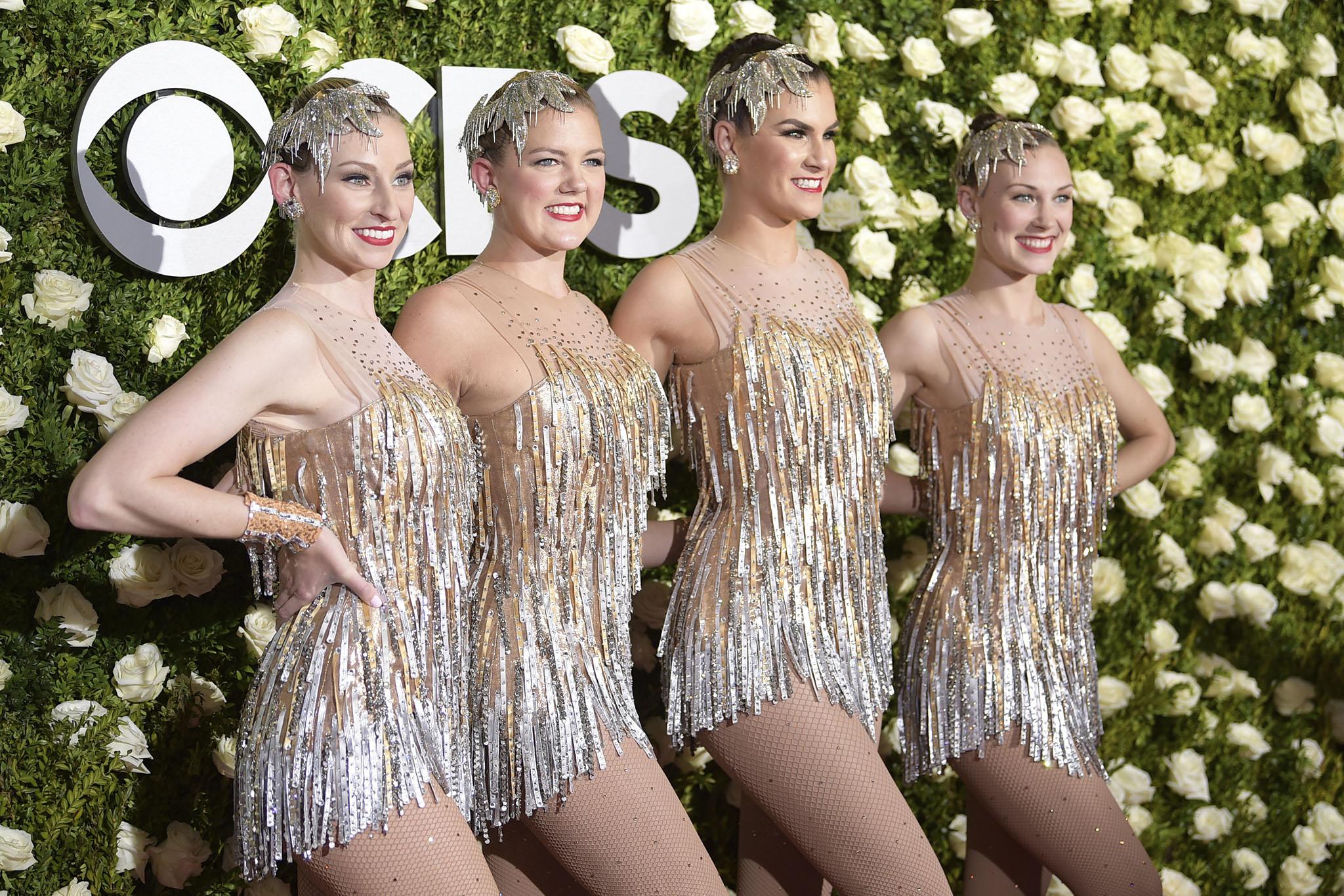 Rockettes at the 2017 Tony Awards