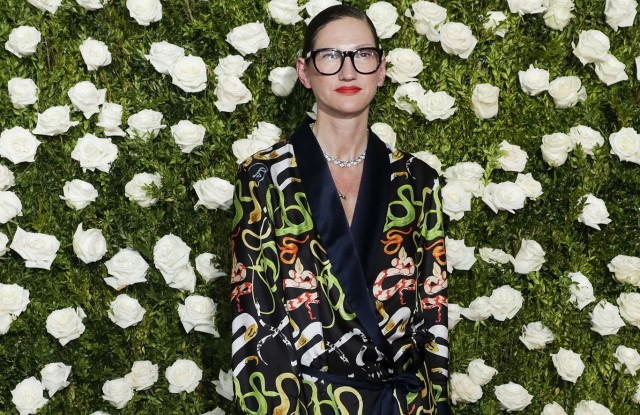 Jenna Lyons2017 Tony Awards Red Carpet, New York, USA - 11 Jun 2017US fashion designer Jenna Lyons poses on the red carpet while arriving to the 2017 Tony Awards at Radio City Music Hall in New York, New York, USA, 11 June 2017. The annual awards honor excellence in Broadway theatre.