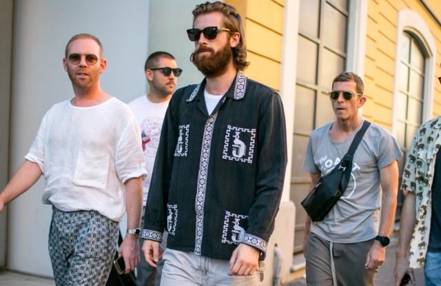 Street Style at Milan Fashion Week Men's Spring 2018