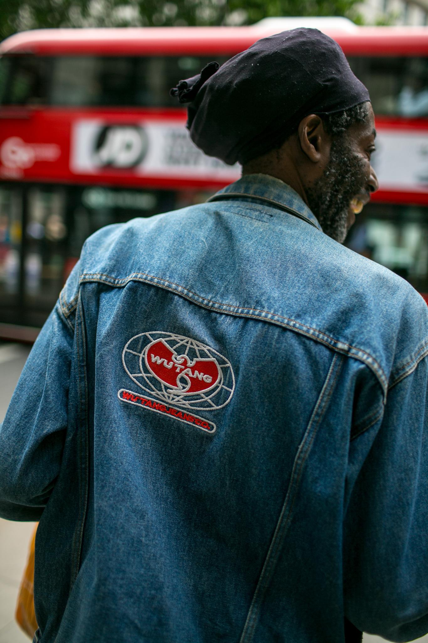 Street style at London Fashion Week Men's Spring 2018