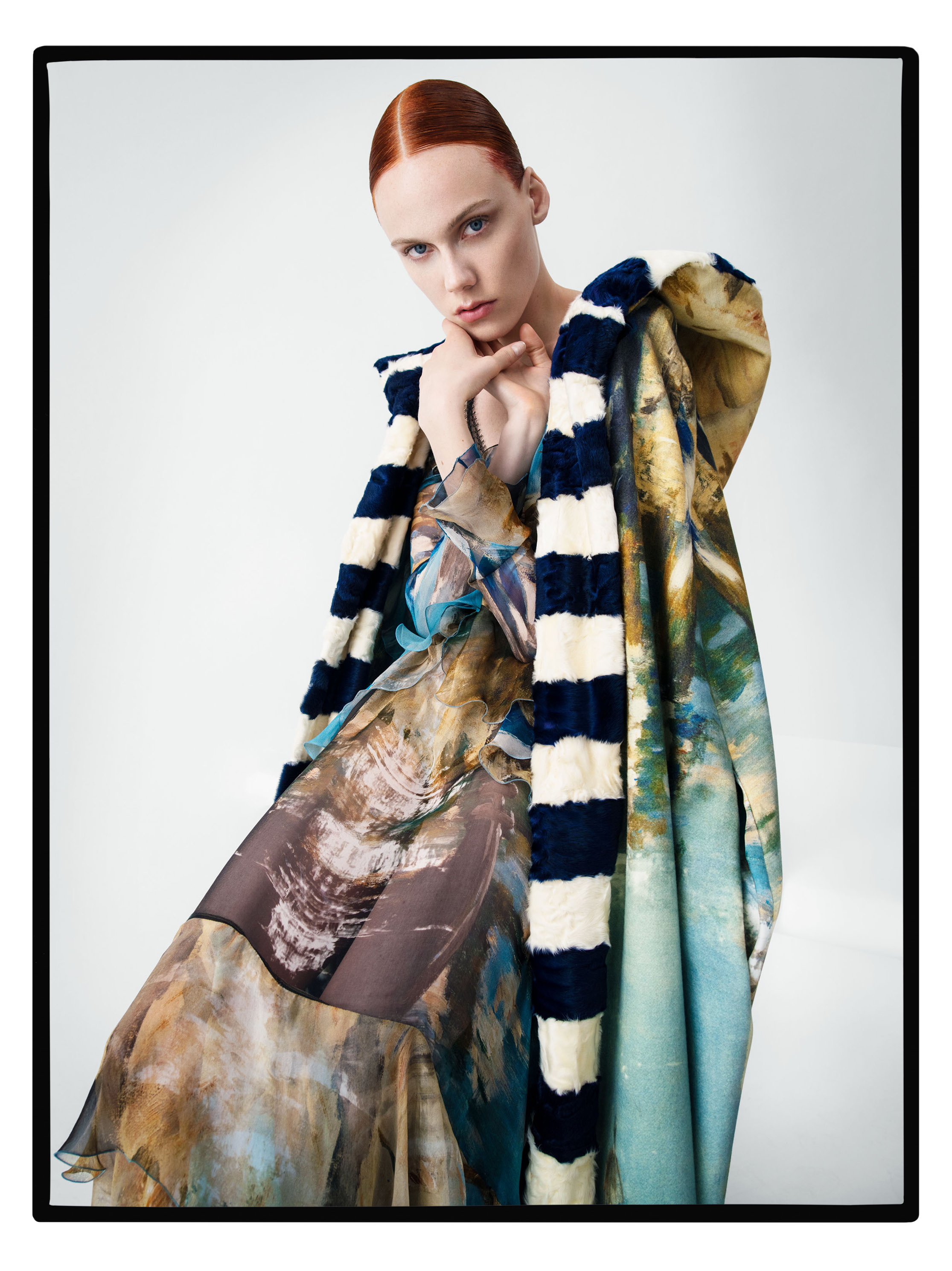 An image from the fall ad campaign by Tim Walker for Alberta Ferretti.