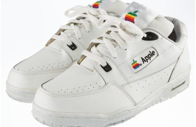 Apple x Adidas sneaker.
