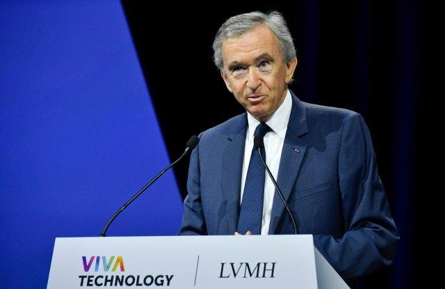 Bernard Arnault Viva Tech