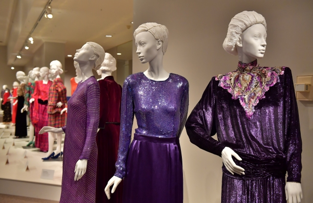 """A look at """"The 1980s: An Age of Excess"""" at the Kent  State University Museum."""