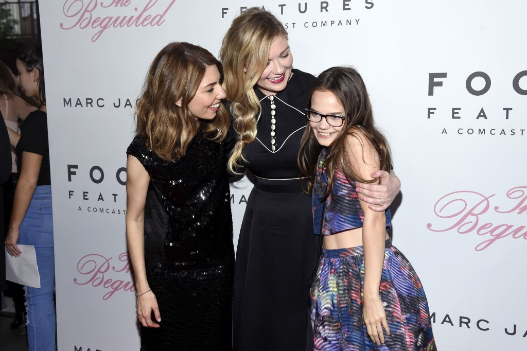 Sofia Coppola, Kirsten Dunst, Oona Laurence'The Beguiled' film premiere, Arrivals, New York, USA - 22 Jun 2017