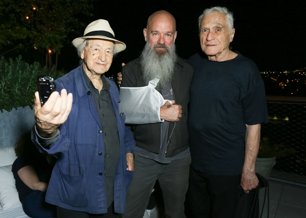 Michael Stipe, John Giorno