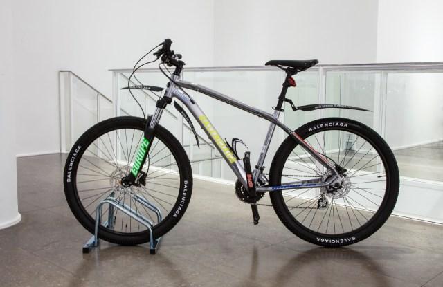The Balenciaga bike.