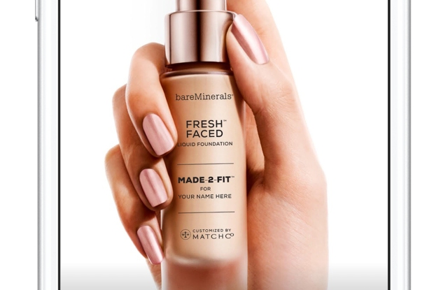 Custom made foundation from BareMinerals.