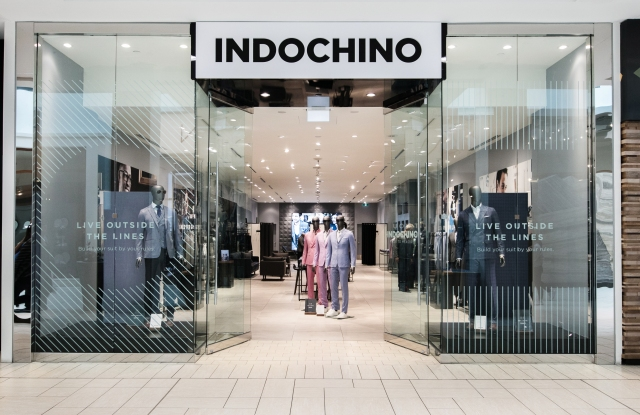 The Indochino showroom in Calgary, Canada.
