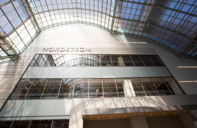 The Nordstrom store in Toronto.
