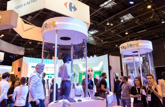 Carrefour's Stand at Vivatech