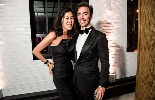 Laura Kim and Fernando Garcia CFDA Awards 2017 After Party at Samsung 837