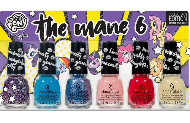 China Glaze and My Little Pony collection.