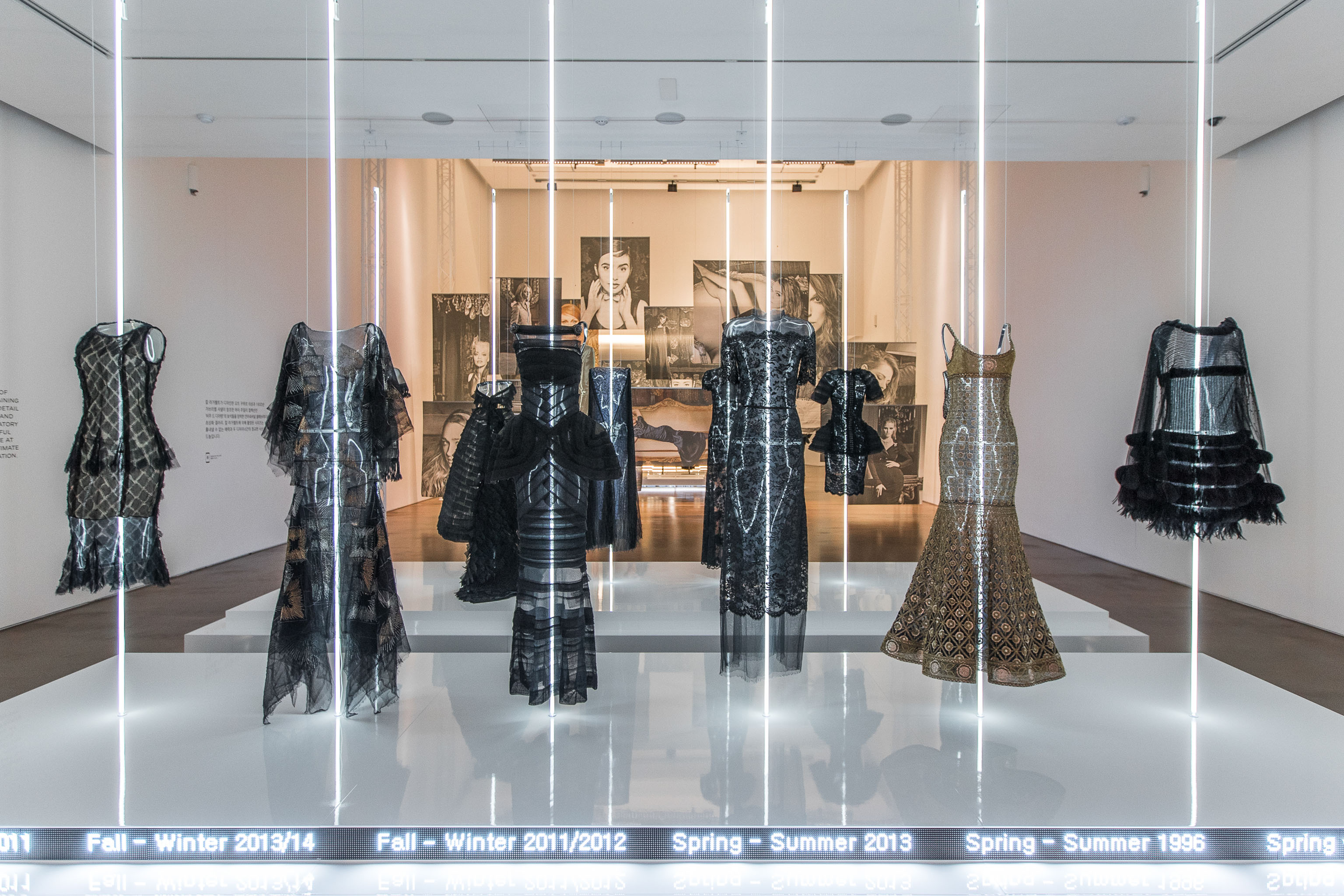The Chanel Mademoiselle Privé Exhibition in Seoul.