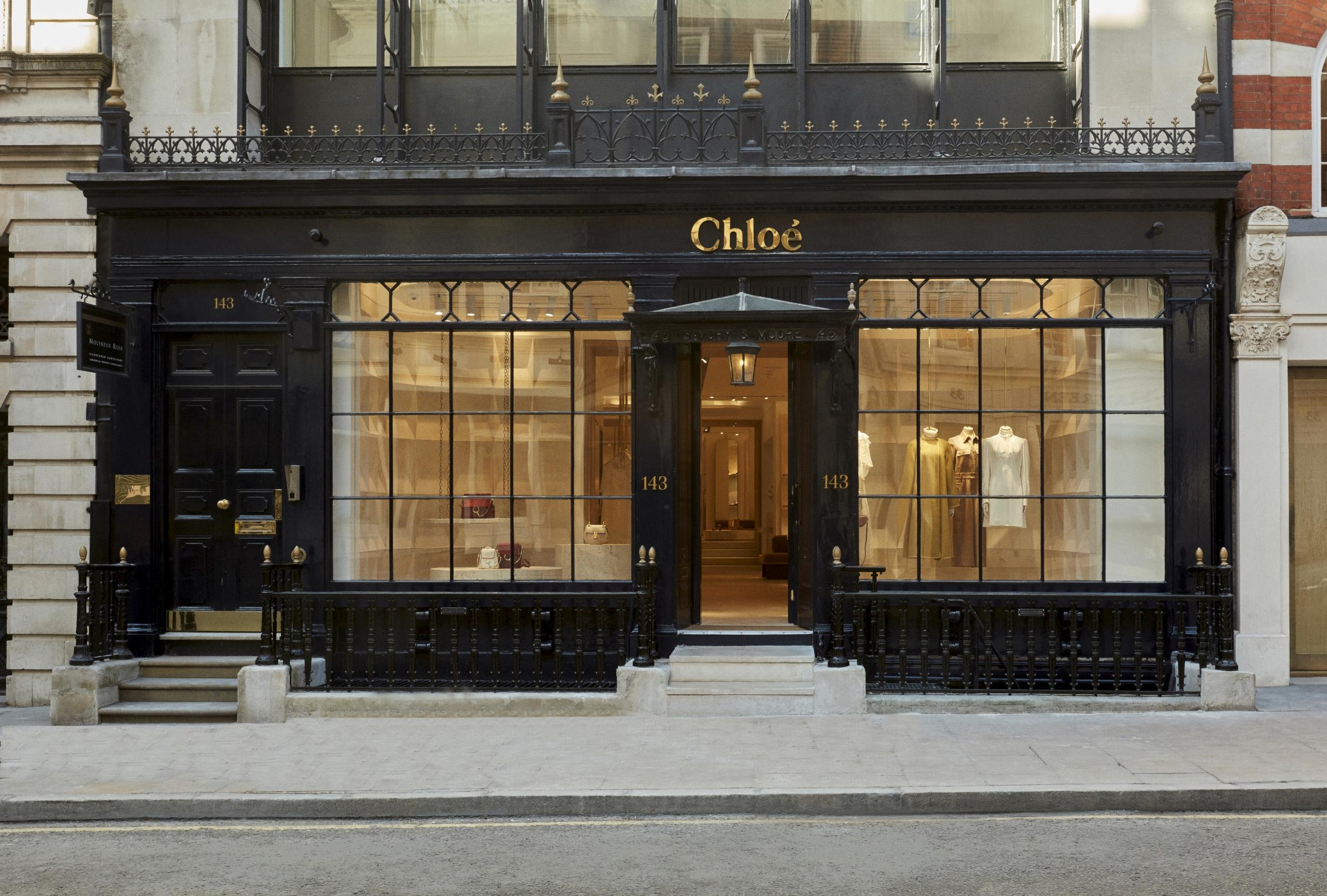 Chloé's new London store New Bond Street