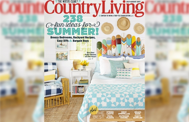 Country Living's July/August 'Water' Issue.