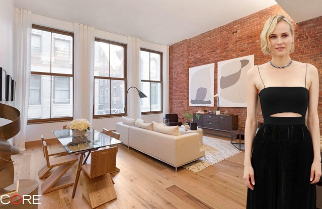 The German actress has just bought a new loft for $4.2 million.