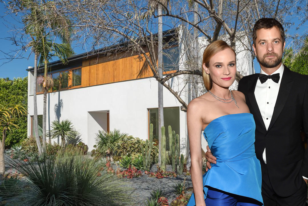 Diane Kruger and former partner Joshua Jackson bought this West Hollywood home in 2014.