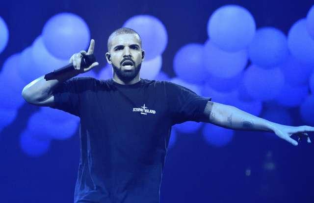 rap singer Drake (his name is Audrey Drake Graham) performs live at AccorHotels ArenaDrake in concert, Paris, France - 12 Mar 2017