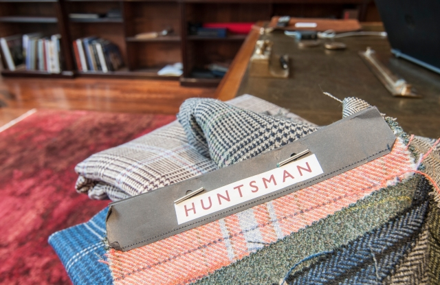 Over 5,000 fabric choices are available at Huntsman.