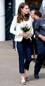 The Duchess of Cambridge (in Zara) at the 1851 Trust Roadshow