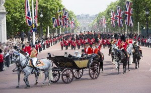 The Trooping The Colour Ceremony
