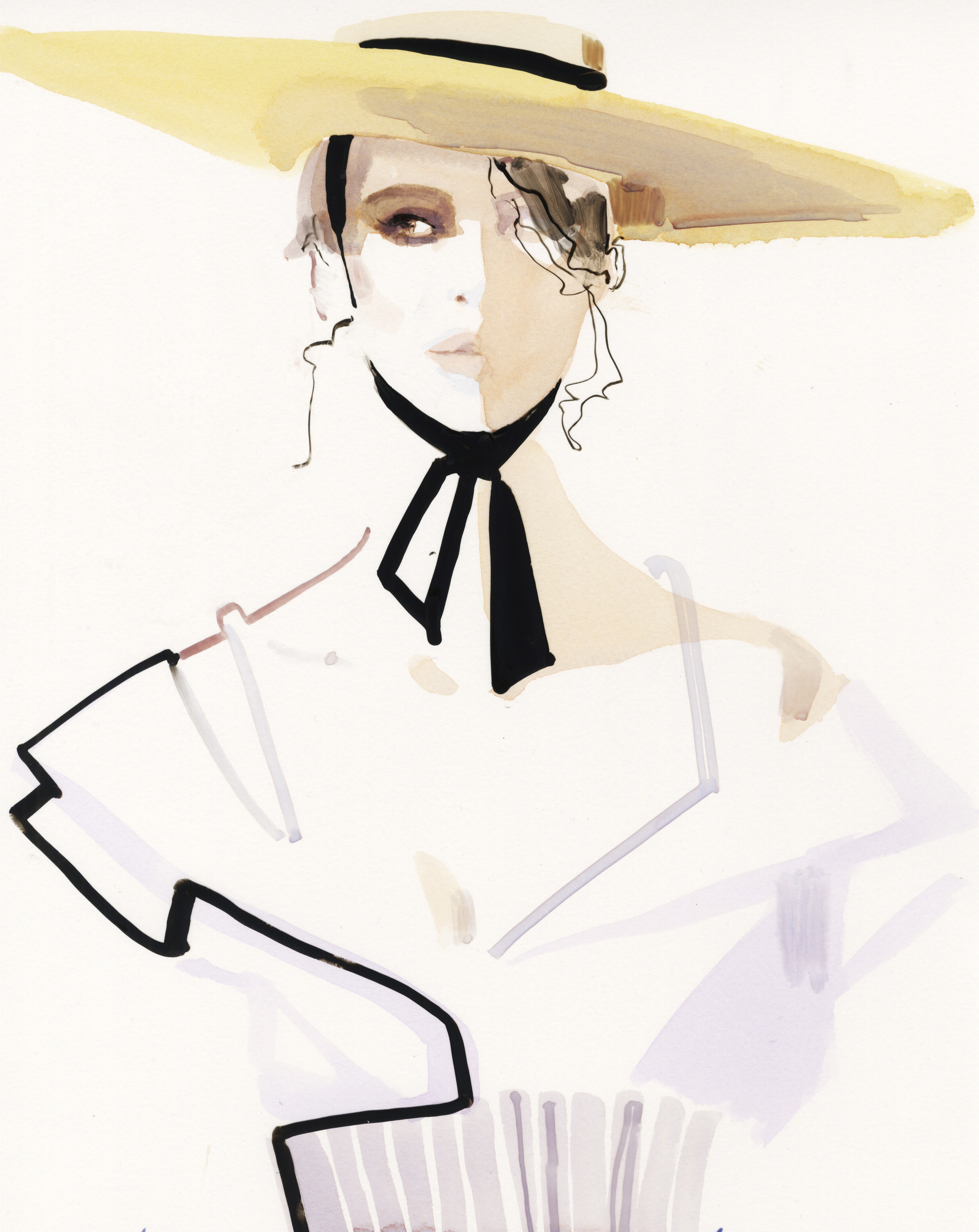 An illustration by David Downton