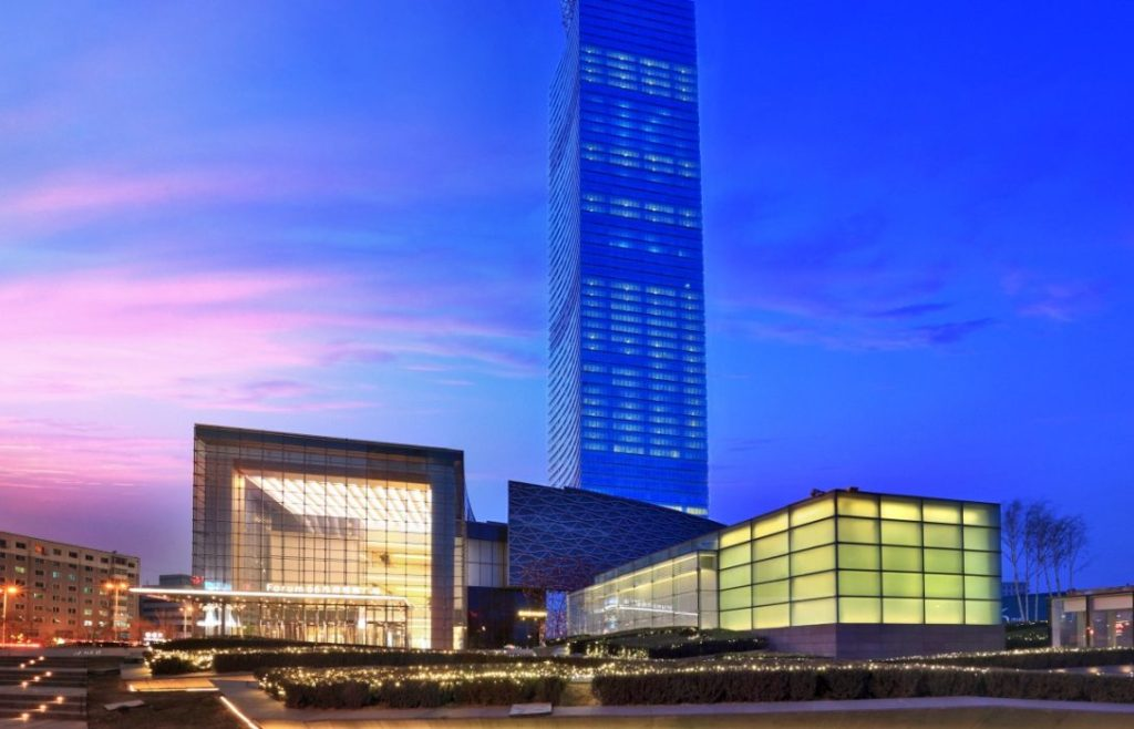 Hang Lung Properties is planning on opening a Conrad hotel to accompany its office tower and high-end shopping mall Forum 66.