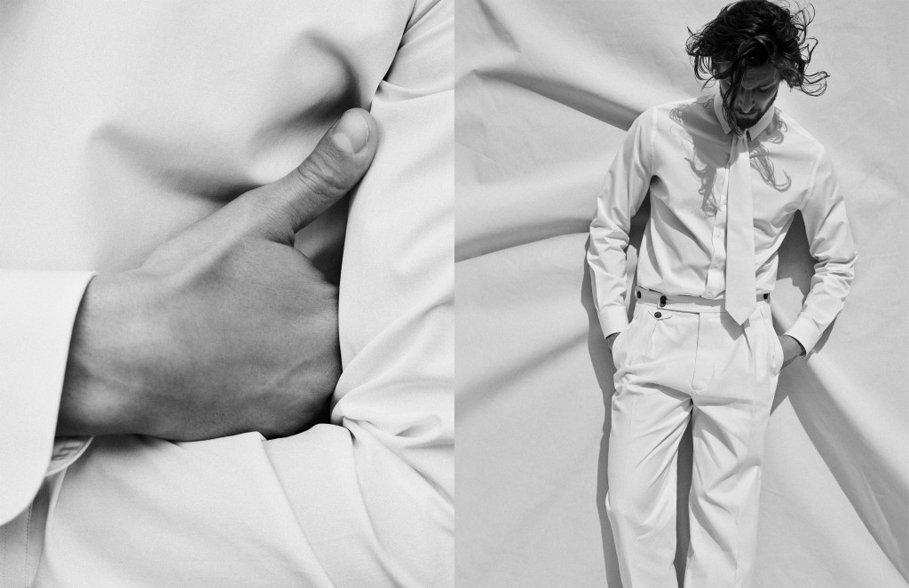 Giorgio Armani Fall 2017 ad campaign.