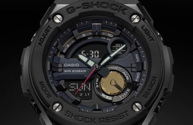 The G-Steel watch designed by Robert Geller.