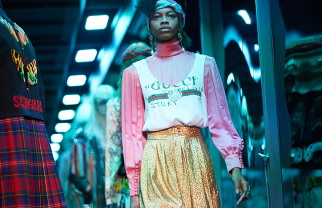 Gucci's fall 2017 collection shown in Milan.