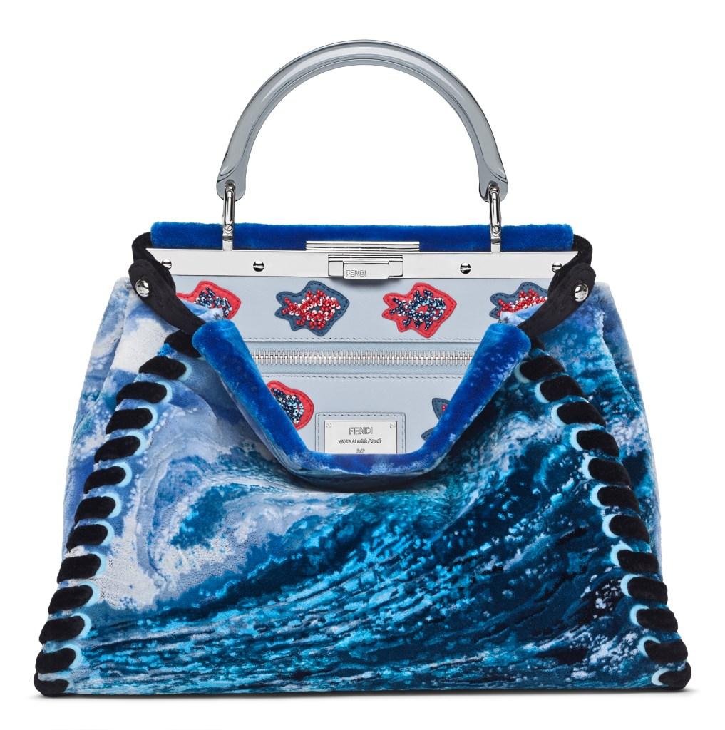 Guo Jing Jing's customized Peekaboo bag