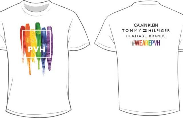 PVH Pride shirts