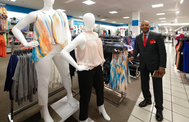 Marvin Ellison, at J.C. Penney in the Queens Mall