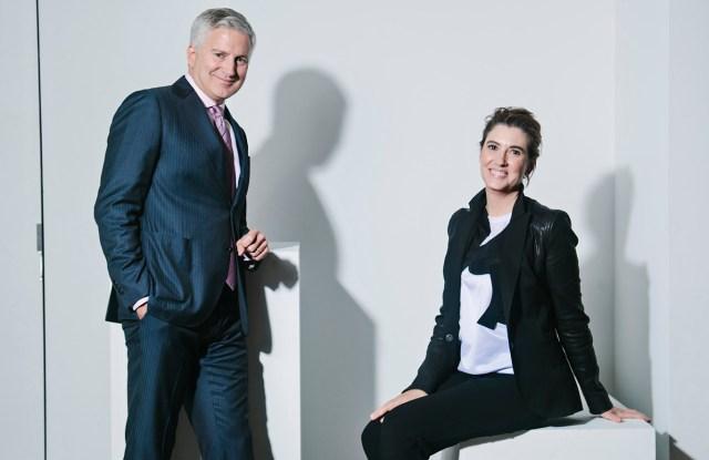 Jerry Vittoria and Elizabeth Musmanno