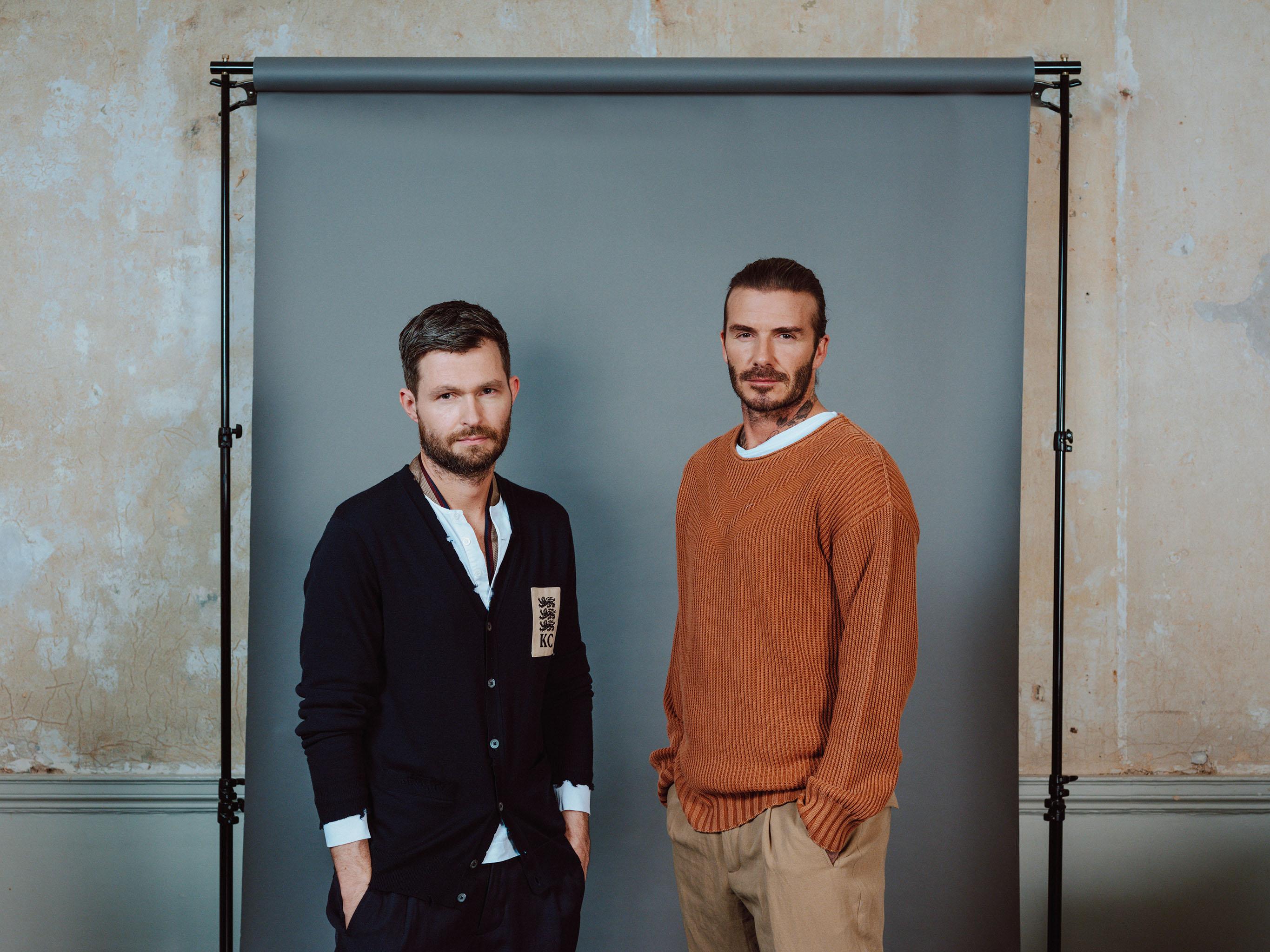 Kent Curwen and David Beckham