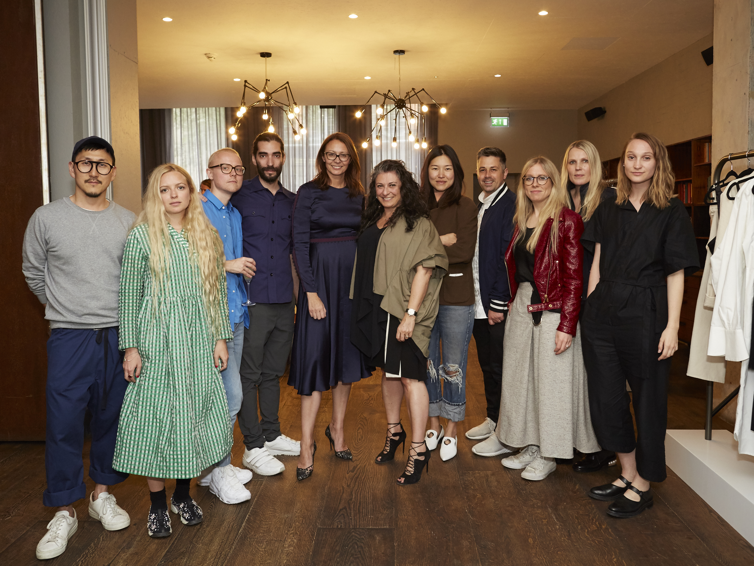 Designers preview their collection at The Hoxton Collective.